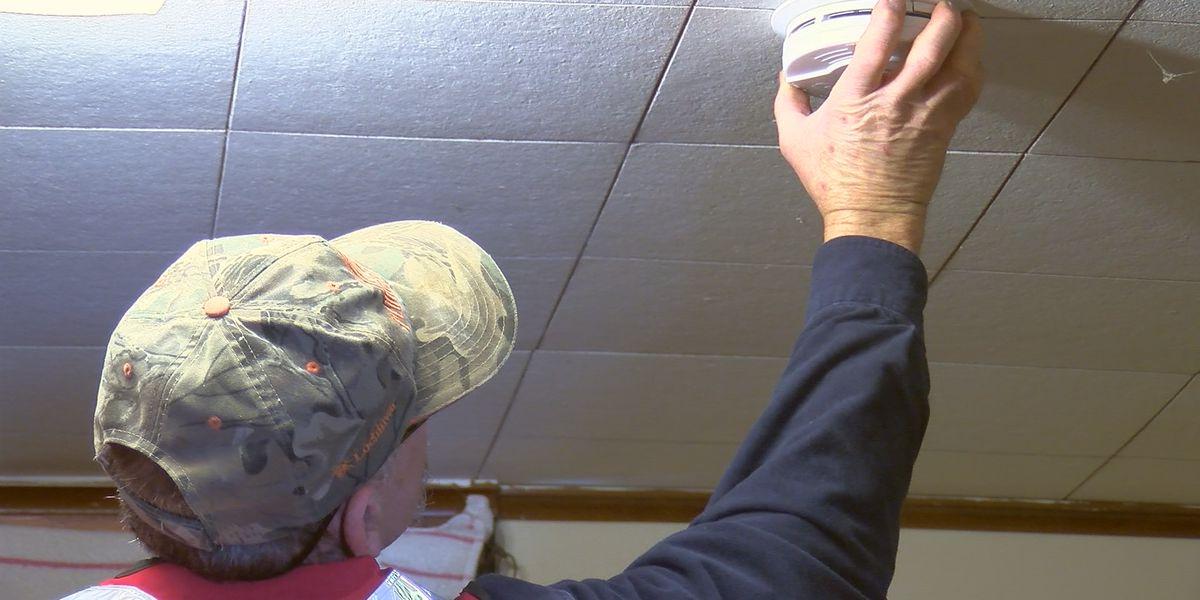 Volunteers go door to door advocating for fire preparedness
