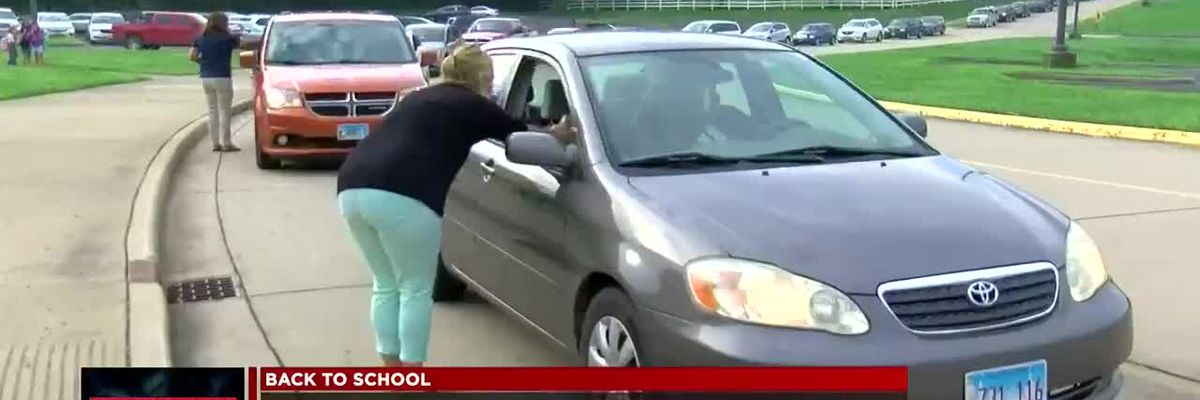 Students in Wabash Community School District return to class