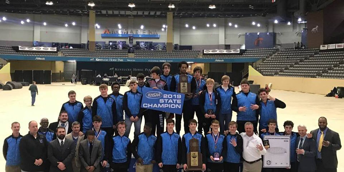 Union Co. HS wins fourth KHSAA wrestling state title in a row, 11th total