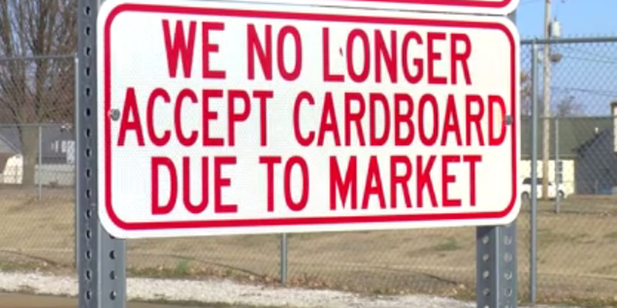 Owensboro suspends cardboard collection at recycling center