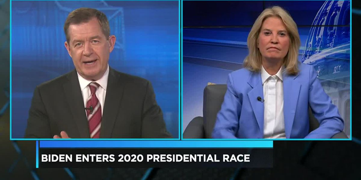 Political Analyst Greta Van Sustern speaks on Joe Biden's presidential bid