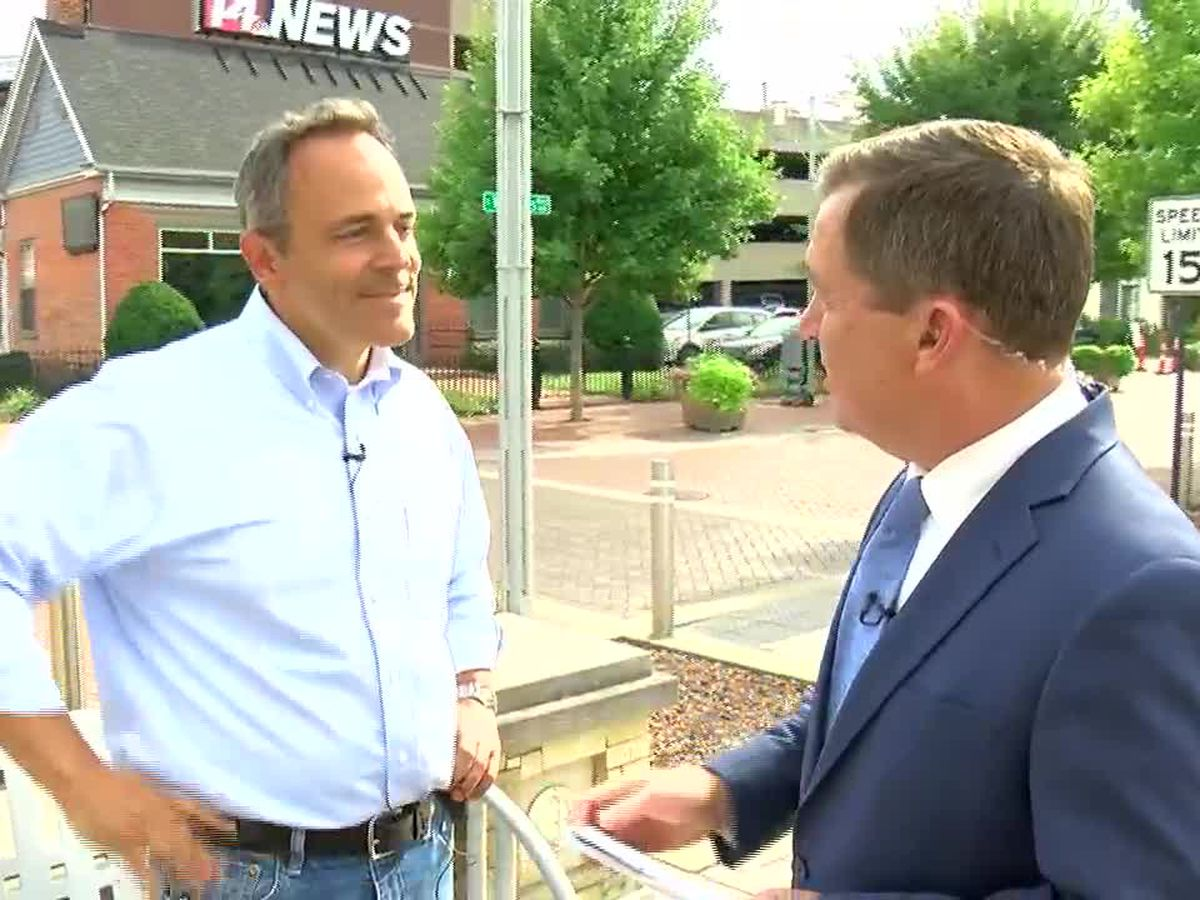 Web Exclusive: Randy Moore interviews KY Governor Matt Bevin