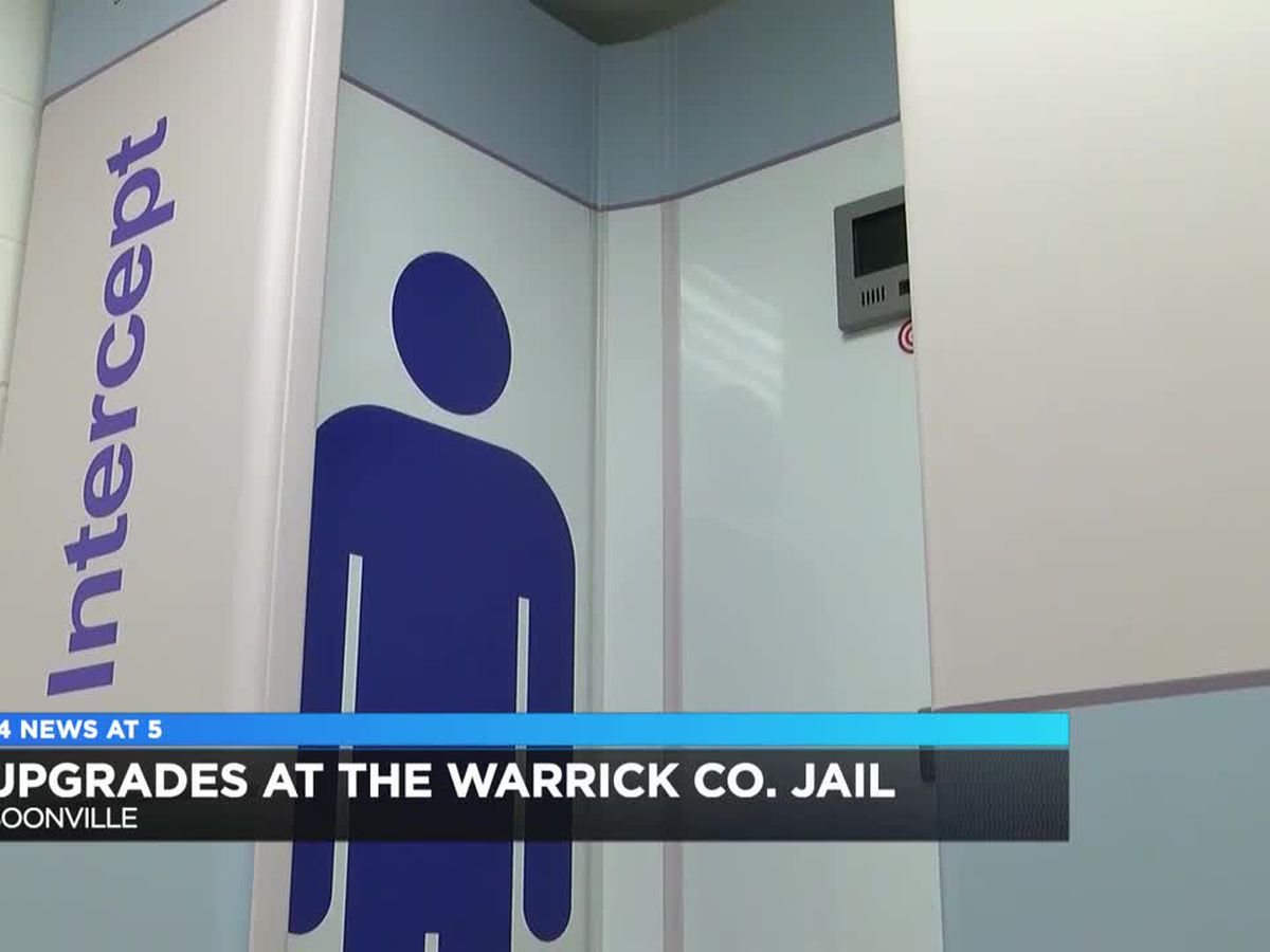 Upgrades at Warrick Co. Jail and Central Dispatch