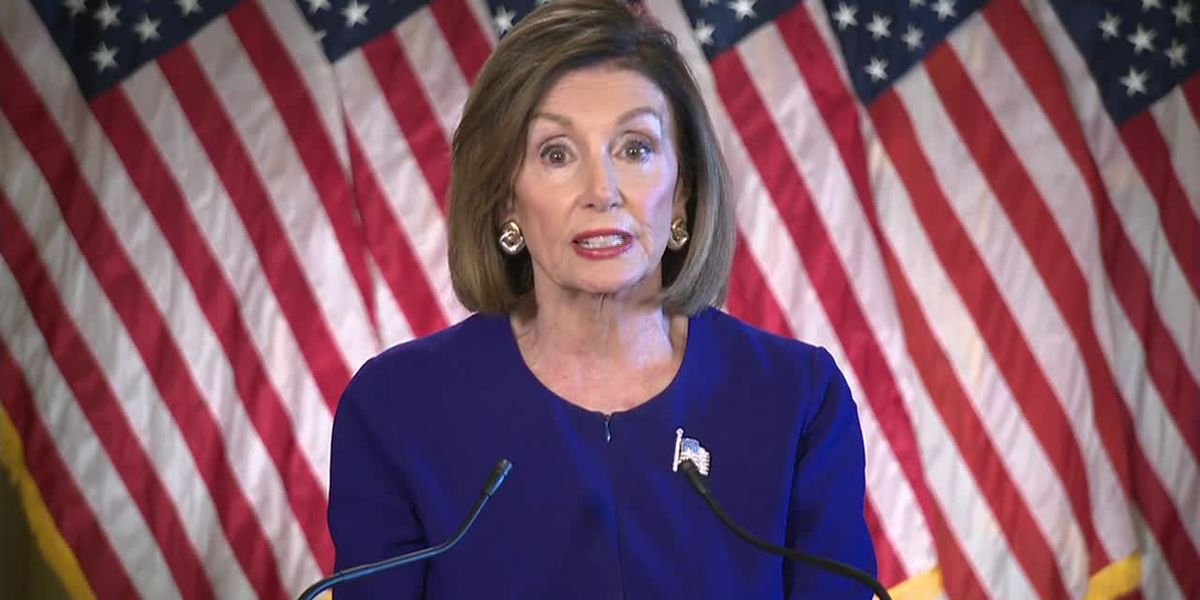 Pelosi says president's actions violate constitution