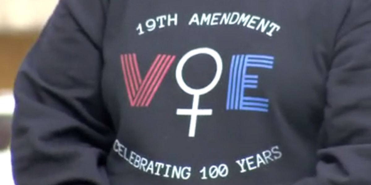 Boonville gathering celebrates women's voting rights