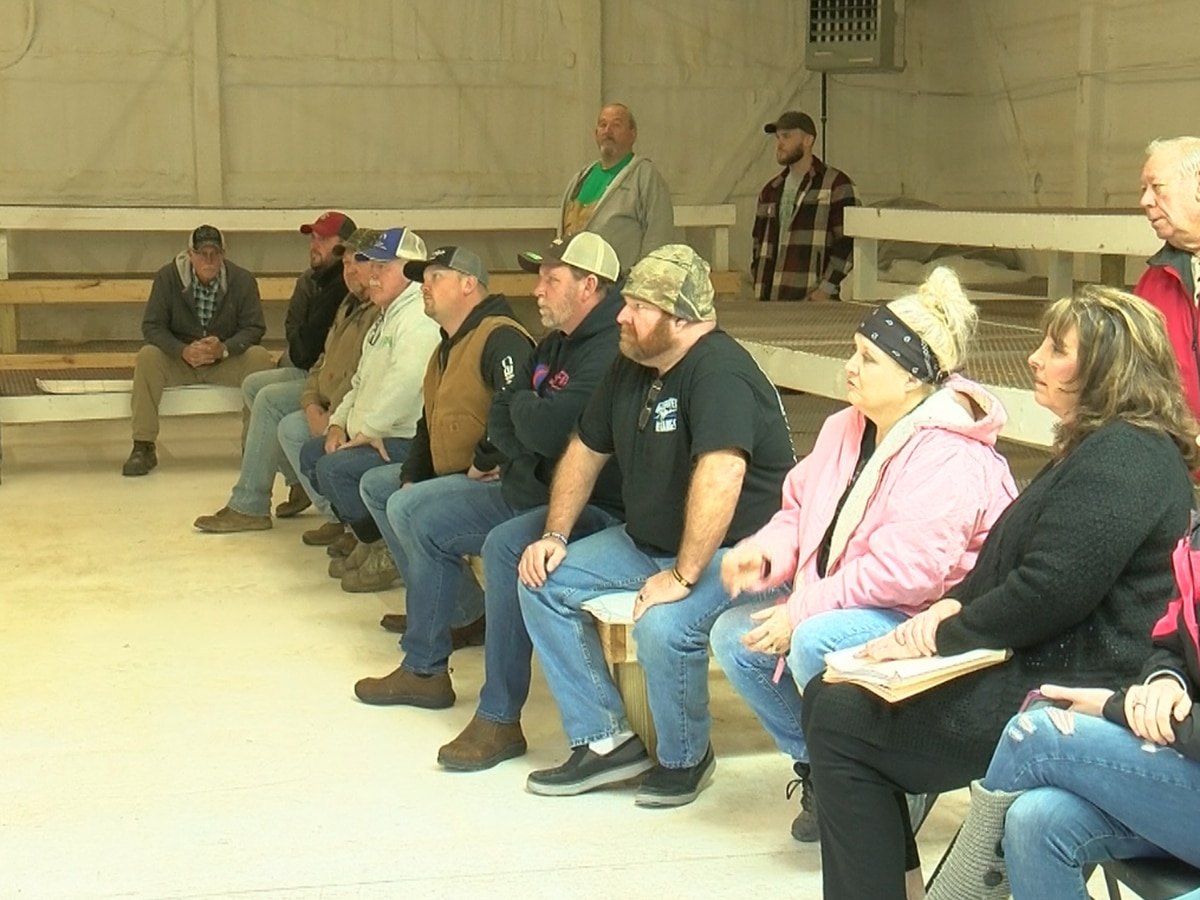 Hemp farmers gather to discuss options after some say local processing plant not honoring contracts
