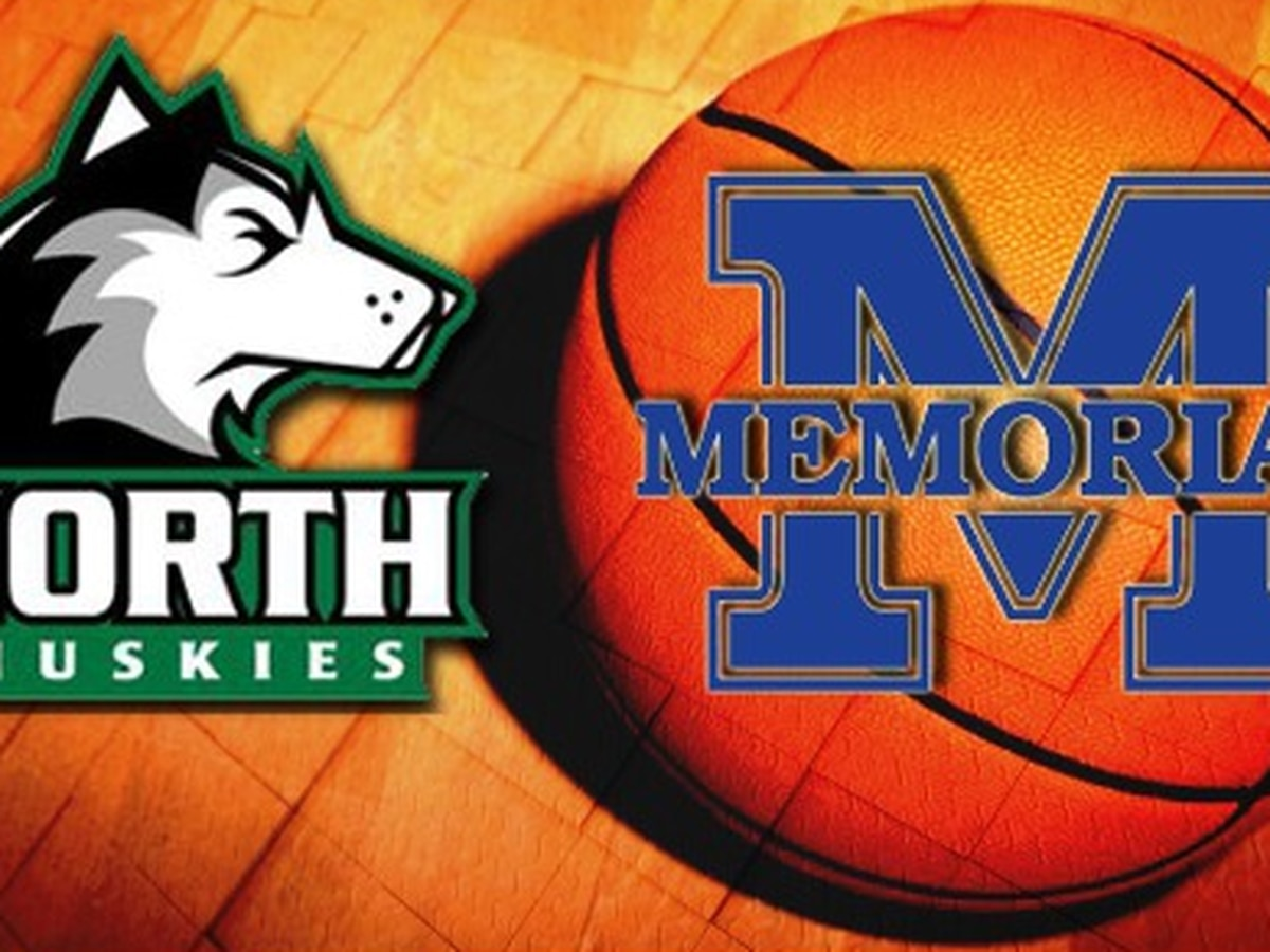 North vs Memorial boys basketball highlights
