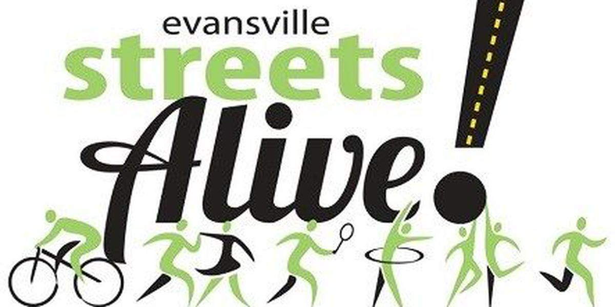 Streets come alive with Evansville event