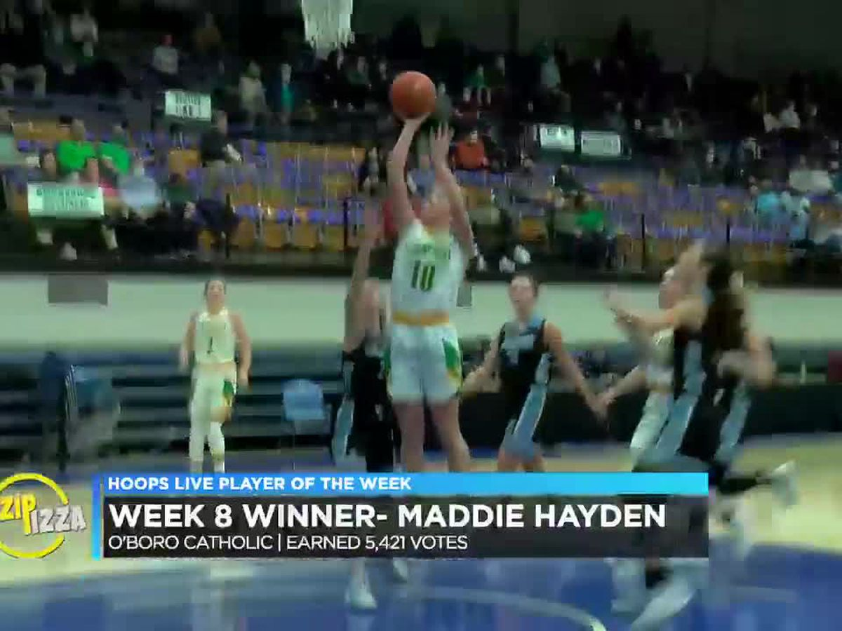 Hayden's lights-out shooting for O'boro Catholic earns POTW honor
