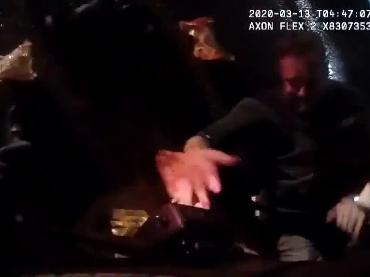 WATCH: Video shows chaotic moments after Sgt. Mattingly was shot in Breonna Taylor raid