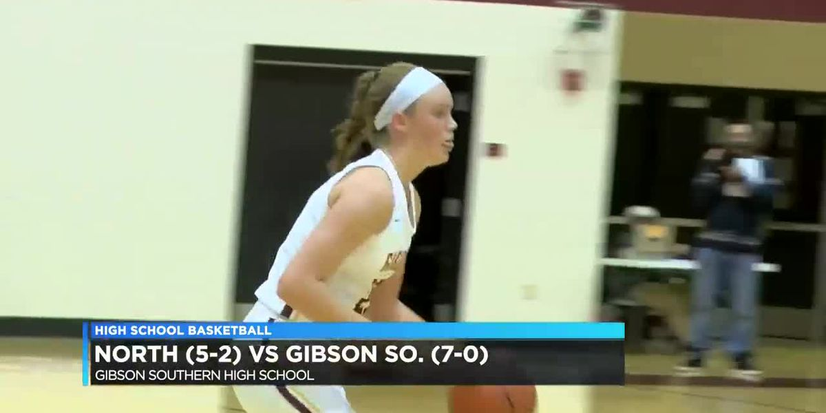 North vs Gibson Southern girls basketball highlights
