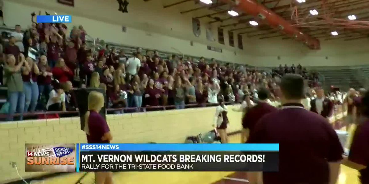 Mt. Vernon Wildcats bring it for Sunrise School Spirit, pt. 3
