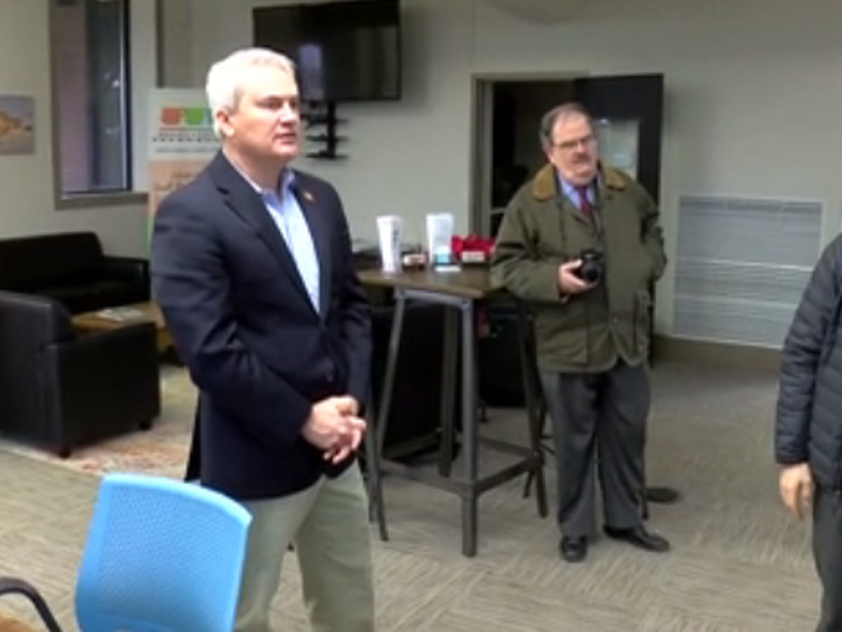 Congressman Comer visits in Madisonville