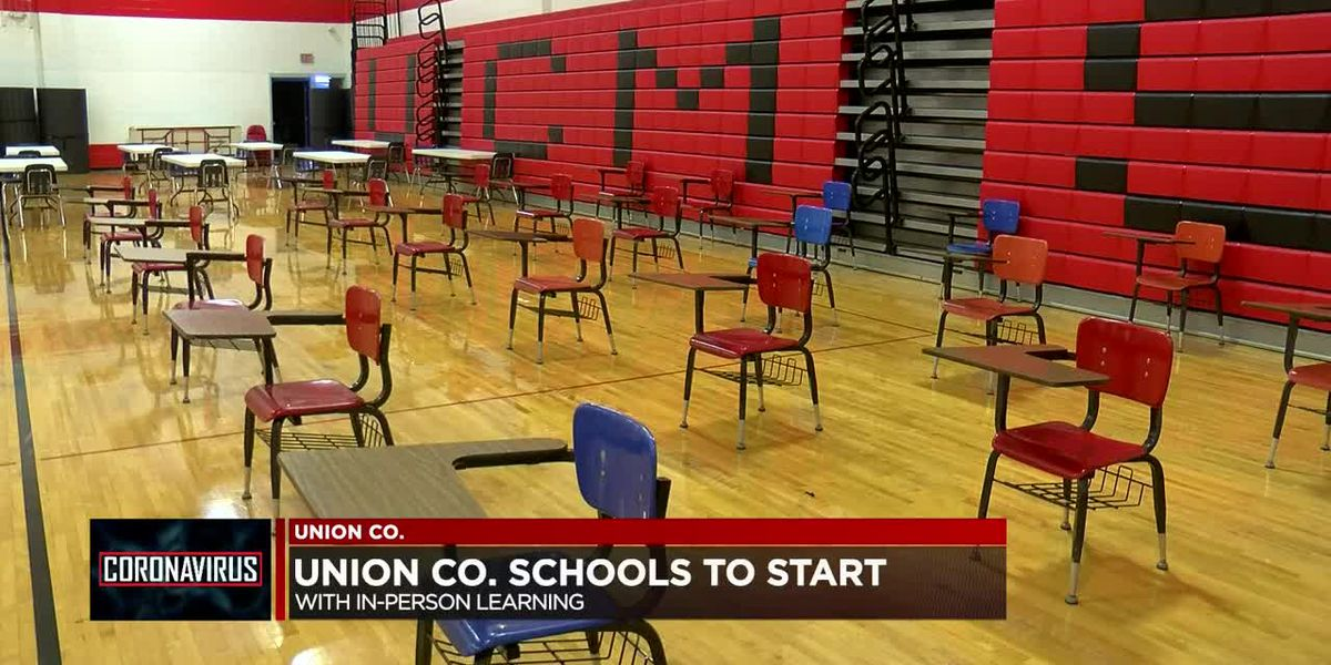 Union Co. Schools to start in-person classes on Mon.