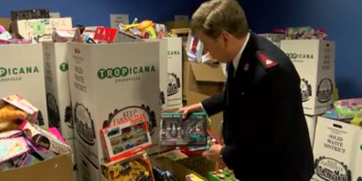Salvation Army's toy drive in full swing, still accepting donations