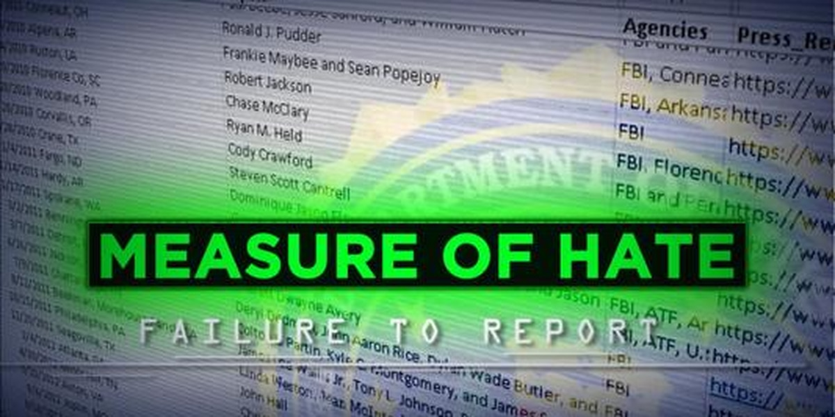 Measure of Hate: Failure to Report