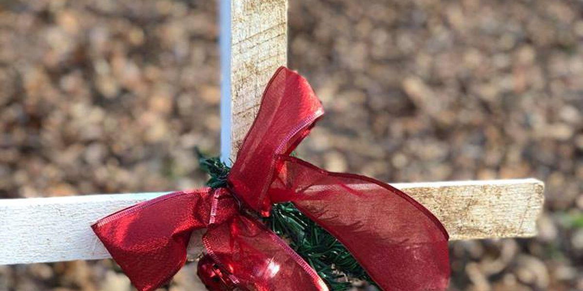 Historic century-old Hopkins Co. cemetery decorated for the holidays