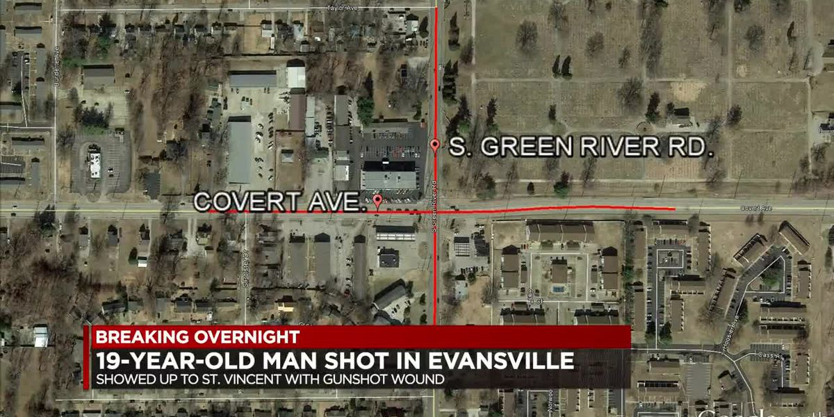 Teen shot overnight in Evansville