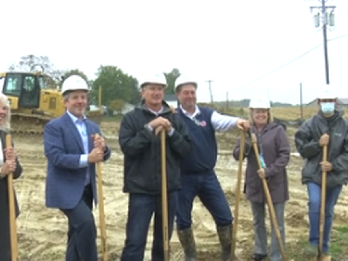 2nd groundbreaking held for new business at North Warrick Industrial Park