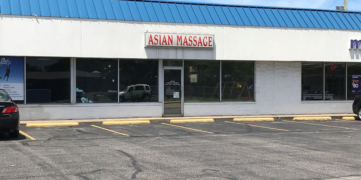 Evansville area massage parlors accused of soliciting sexual favors for tips