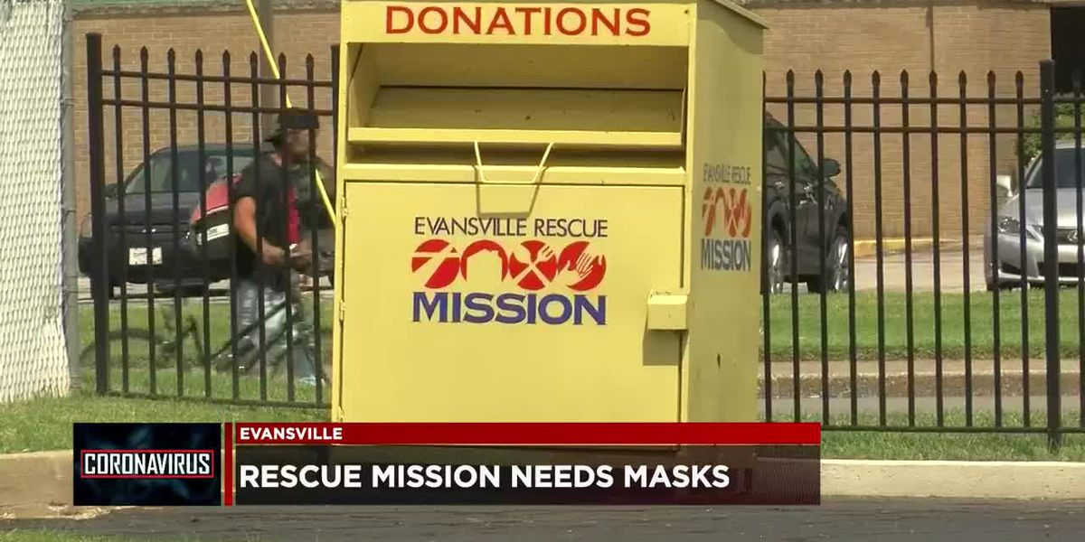 Evansville Rescue Mission seeking mask donations