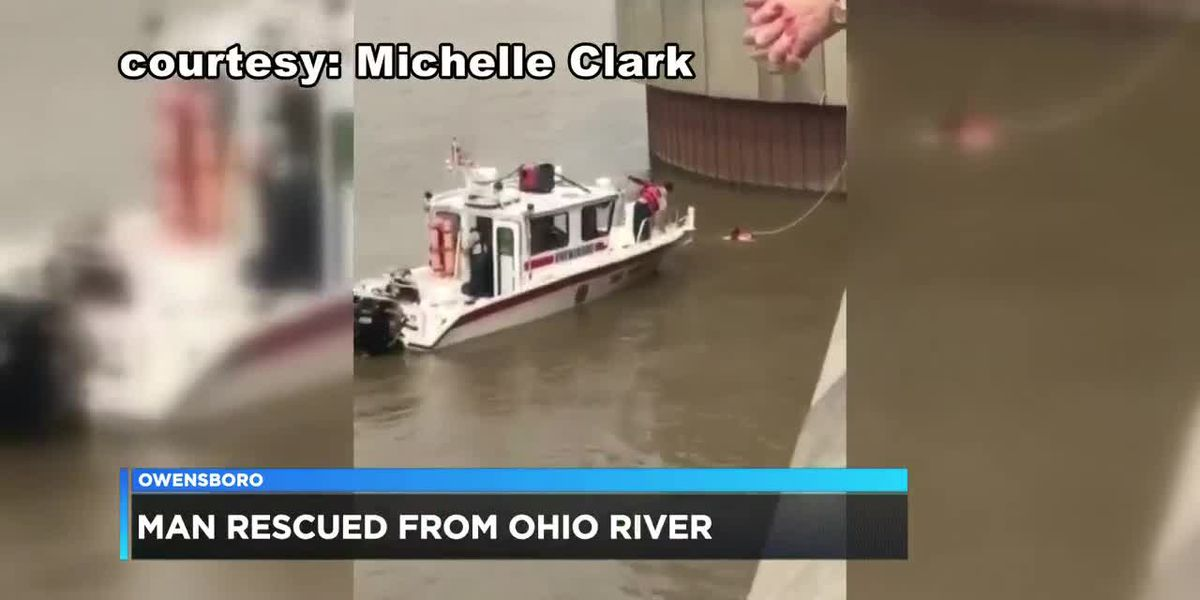 OFD: man rescued from Ohio River