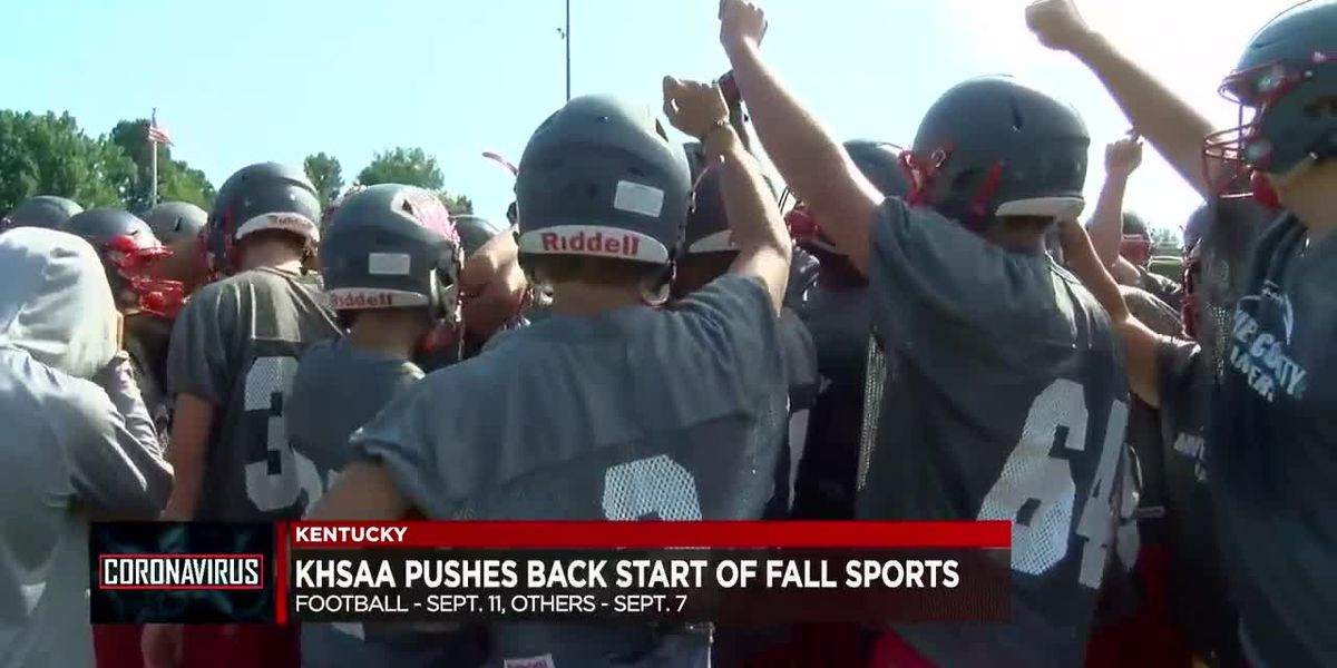 KHSAA Board approves new schedules for fall sports