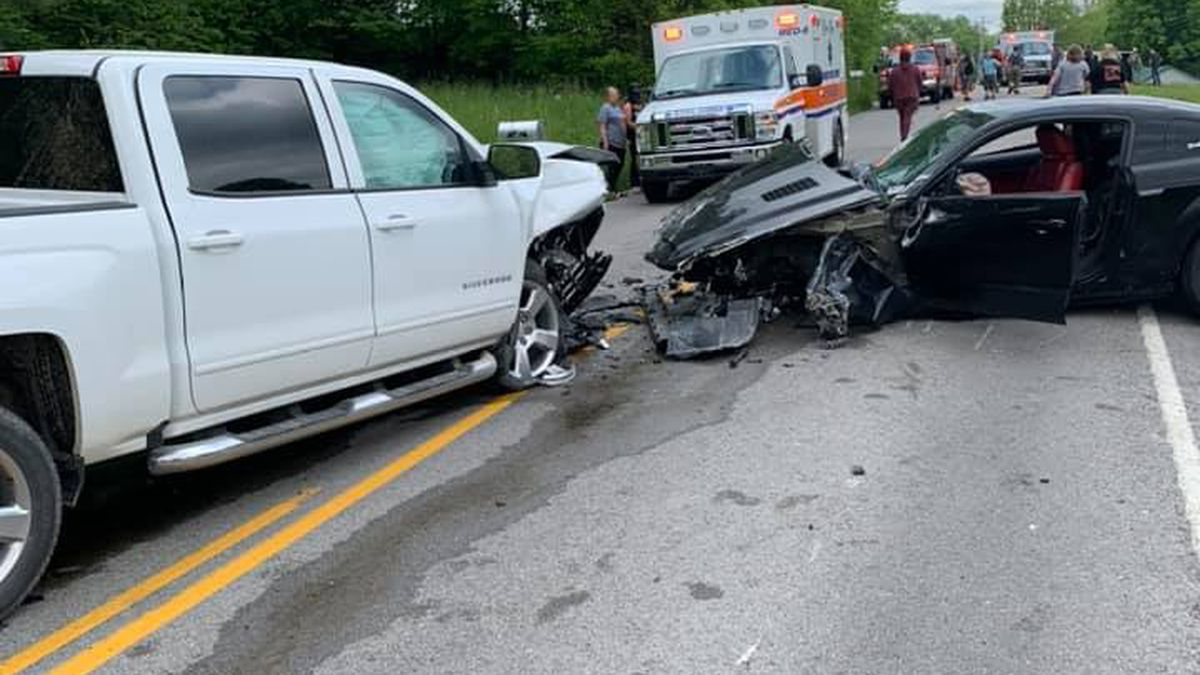 4 injured following four-vehicle wreck in Ohio Co.