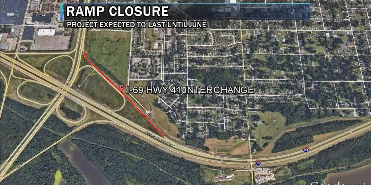 Traffic Alert: Highway 41 ramp onto NB I-69 closing
