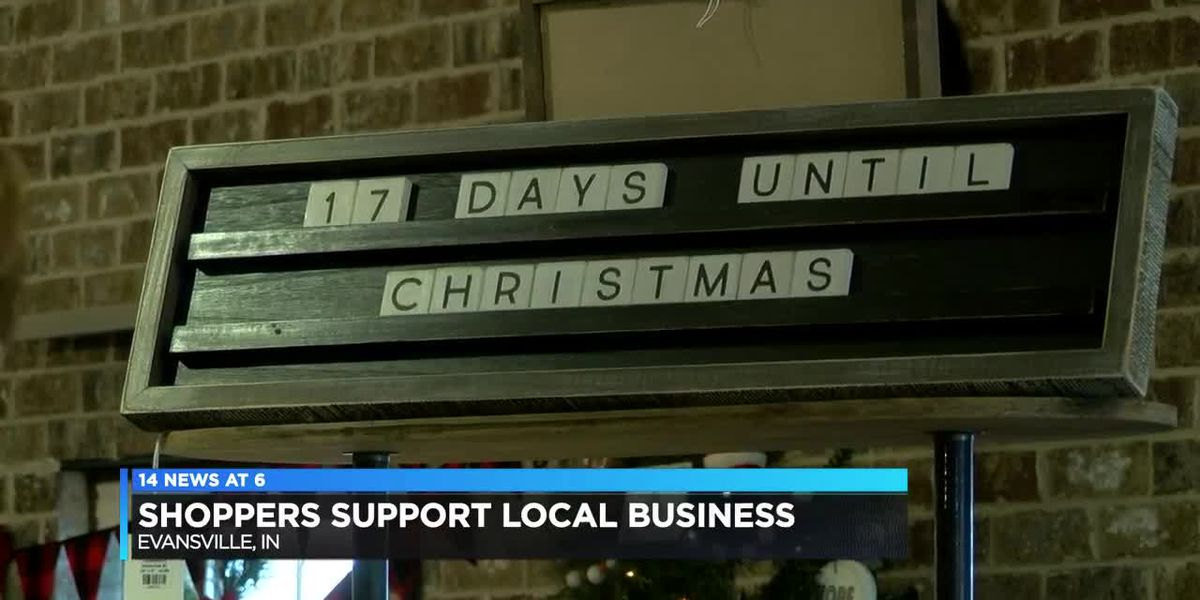 Shoppers still supporting local business
