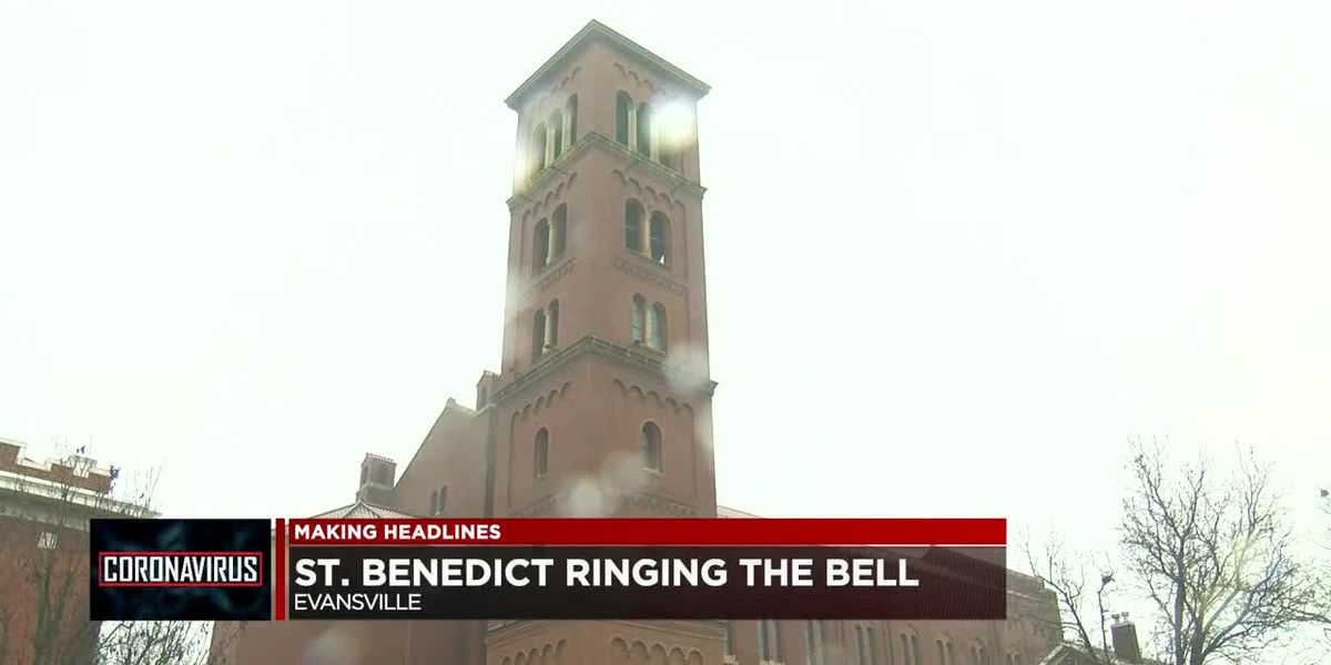 St. Benedict's honors COVID victims with bell ringing