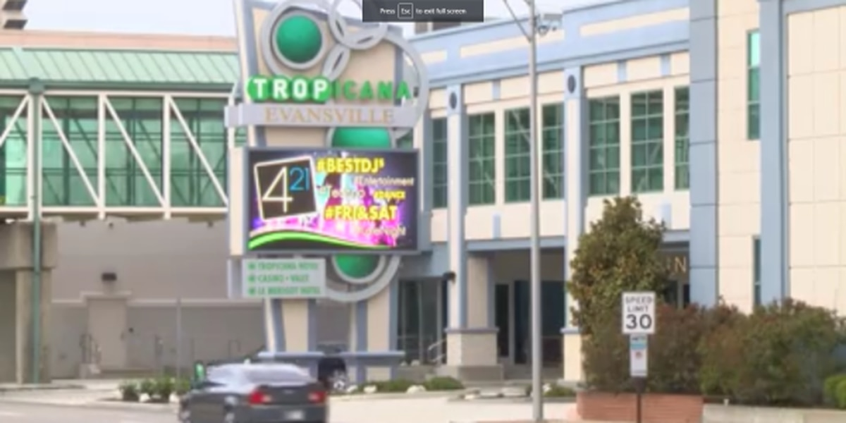 Tropicana Evansville updates COVID-19 restrictions