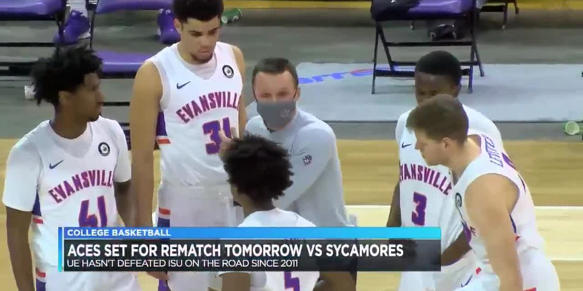 UE men set for rematch at Indiana State