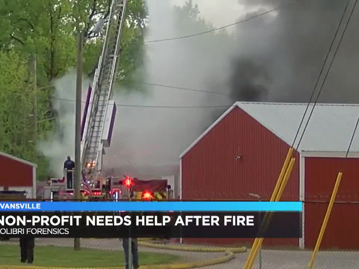 Non-profit looking for help following fire at Evansville storage unit