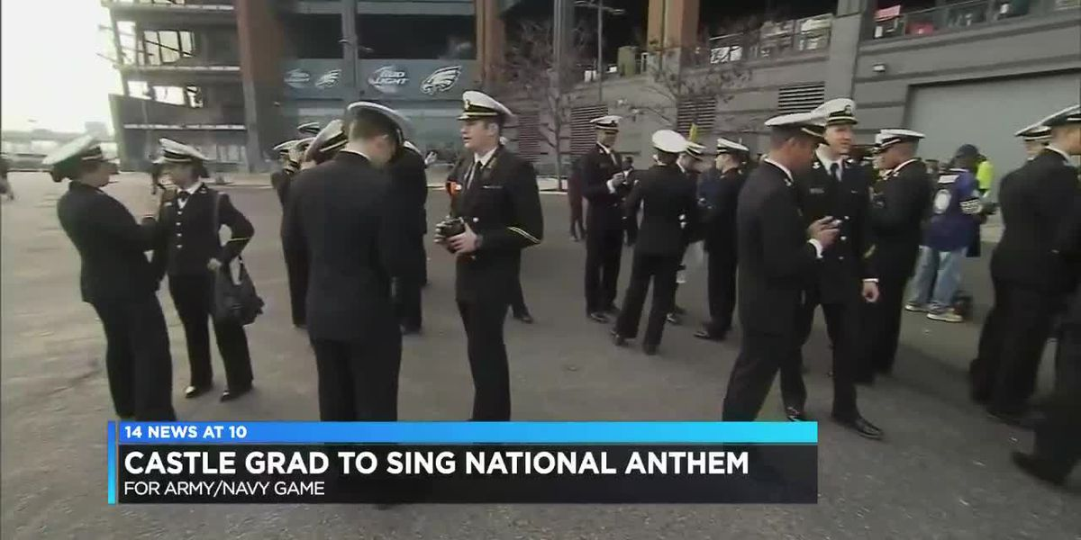 Castle graduate to sing national anthem before Army-Navy game