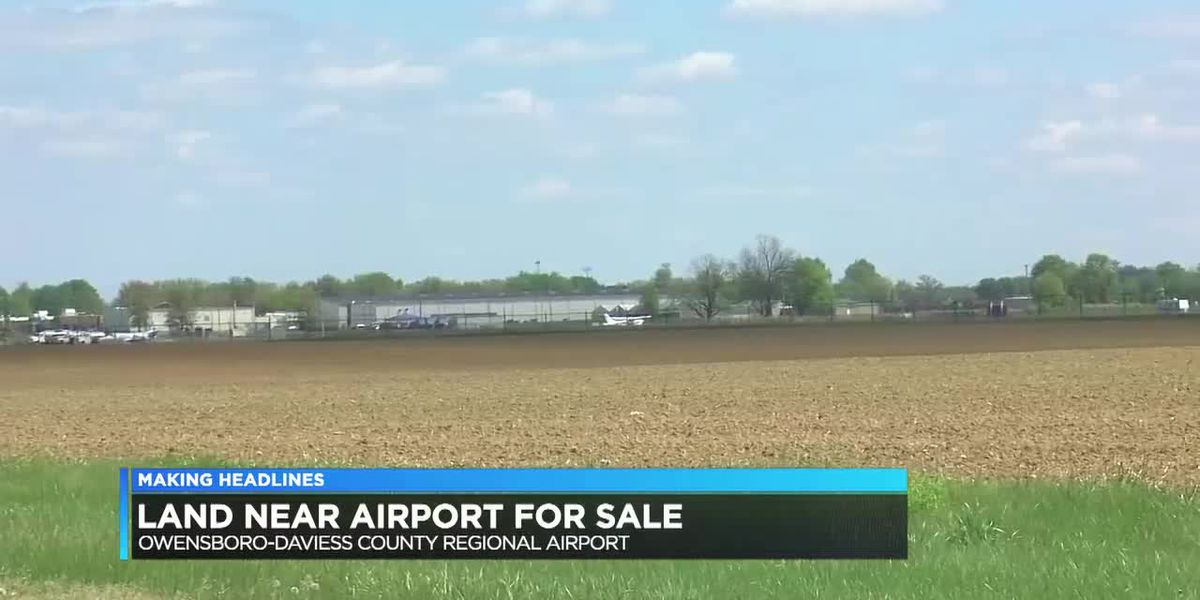 Owensboro Airport has land for sale