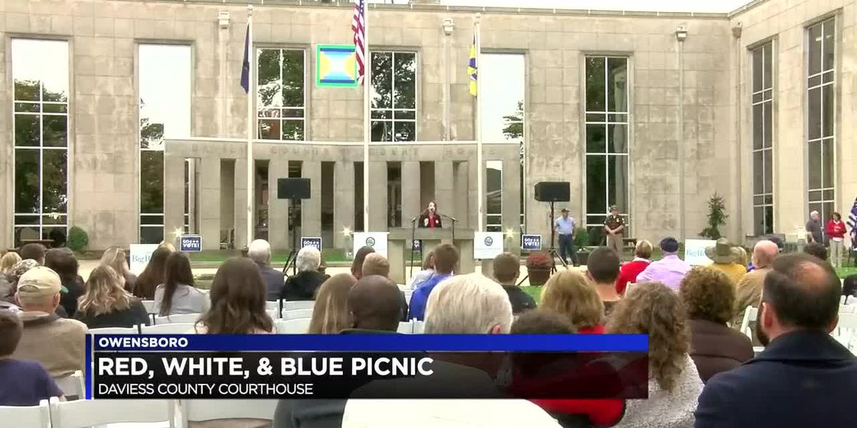 Red, White and Blue Picnic in Owensboro gives voters chance to hear from candidates