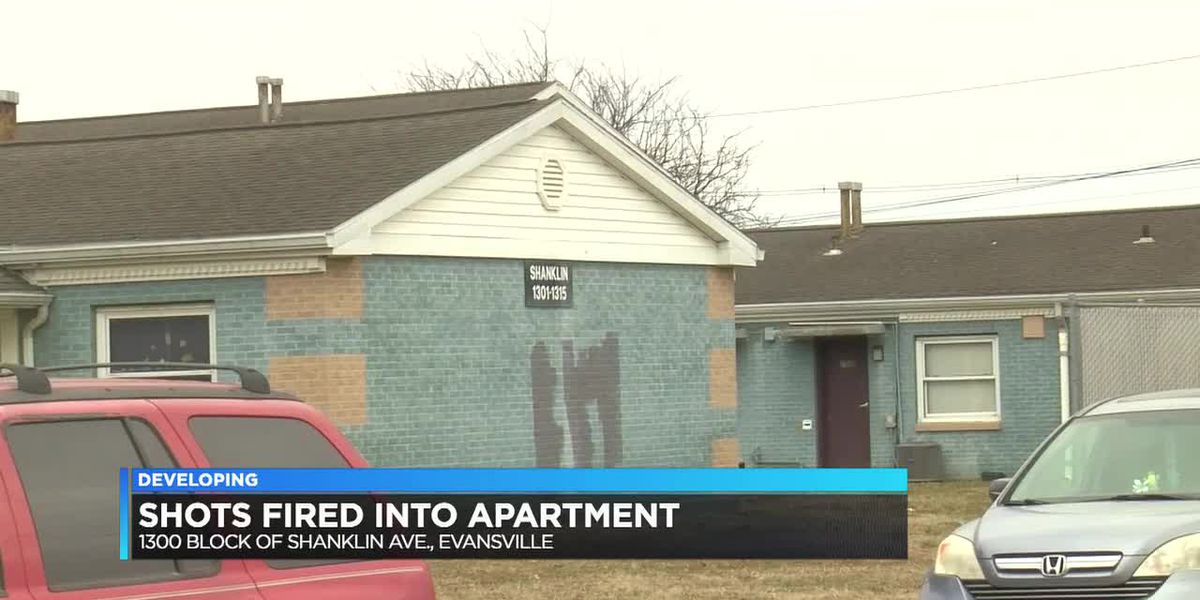 Police: Shots fired into Evansville apartment with people inside