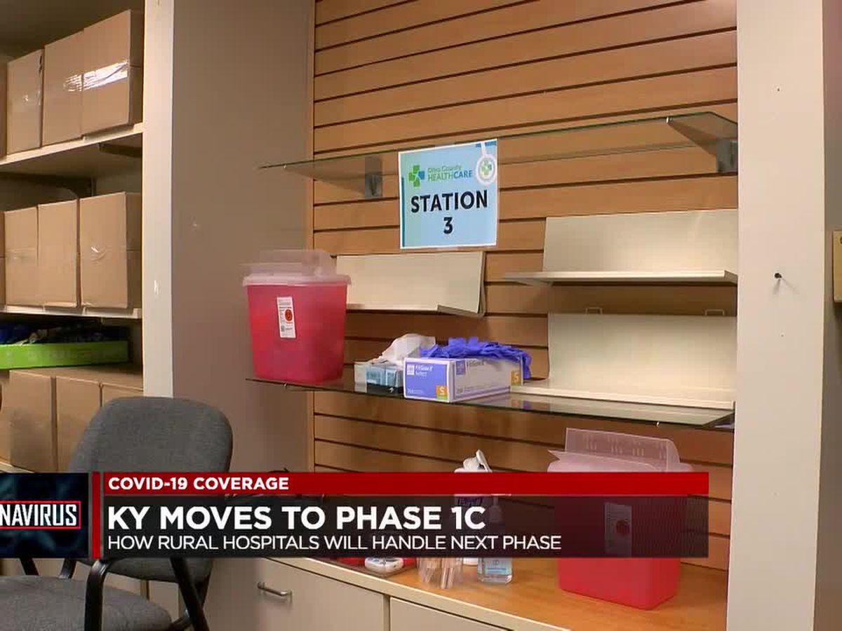 Ky. moves to Phase 1C of its COVID-19 vaccination plan