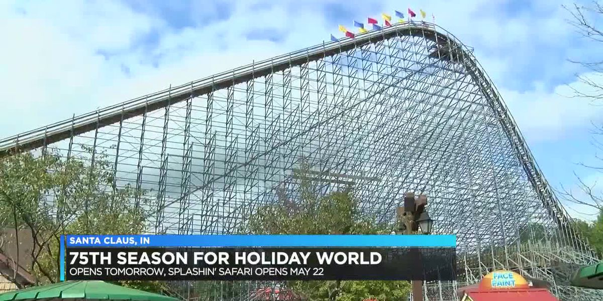 Holiday World to celebrate 75 seasons as they prepare to open Saturday