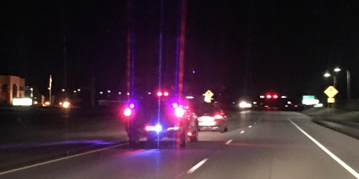 Police chase ends on Evansville's northside