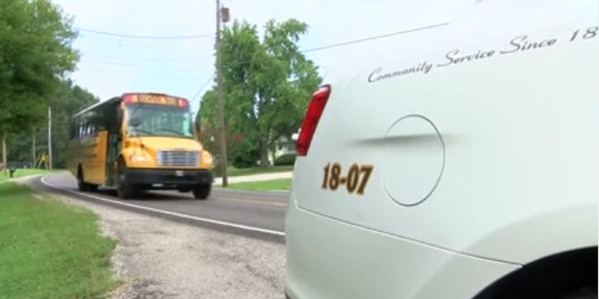 Law enforcement patrolling school zones as kids return for new year