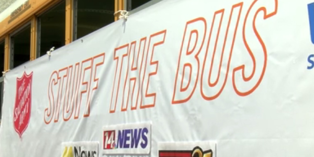 Salvation Army's Stuff the Bus event helps teachers with school supplies