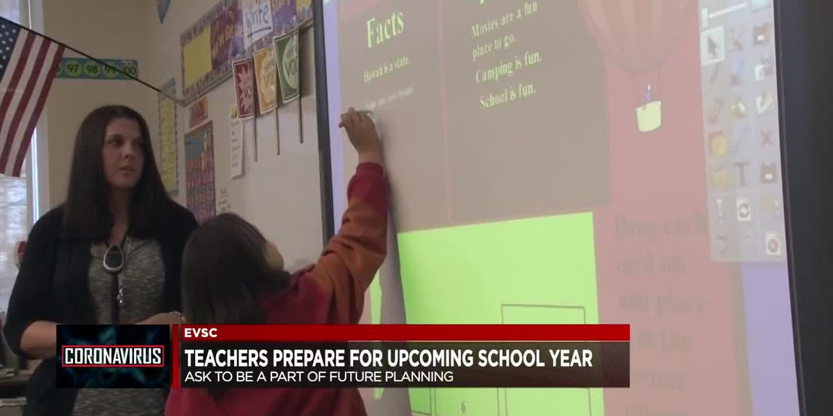 Teachers prepare for upcoming school year; Survey sent to EVSC parents