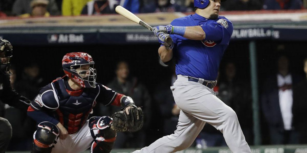 Schwarber's homer lifts Cubs to 6-5 win over Mariners