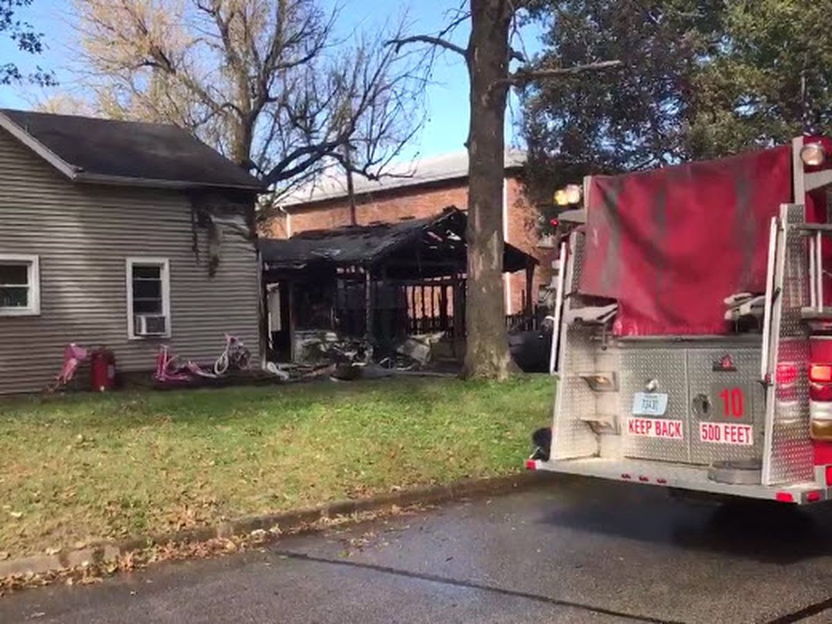 One person taken to hospital after Evansville fire