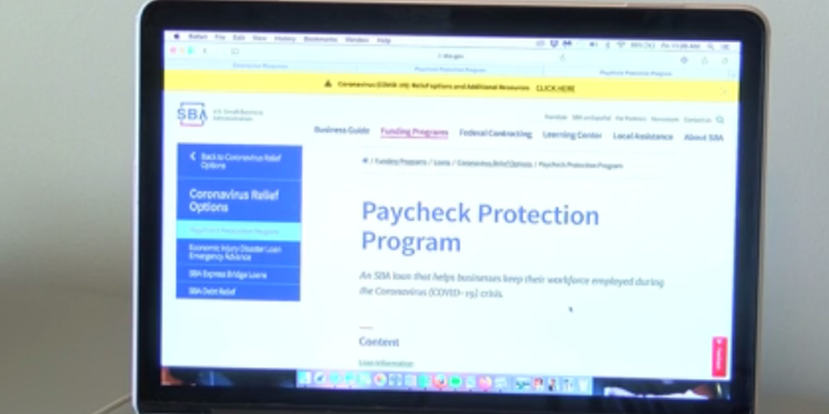 Local businesses apply to meet payroll through Paycheck Protection Program