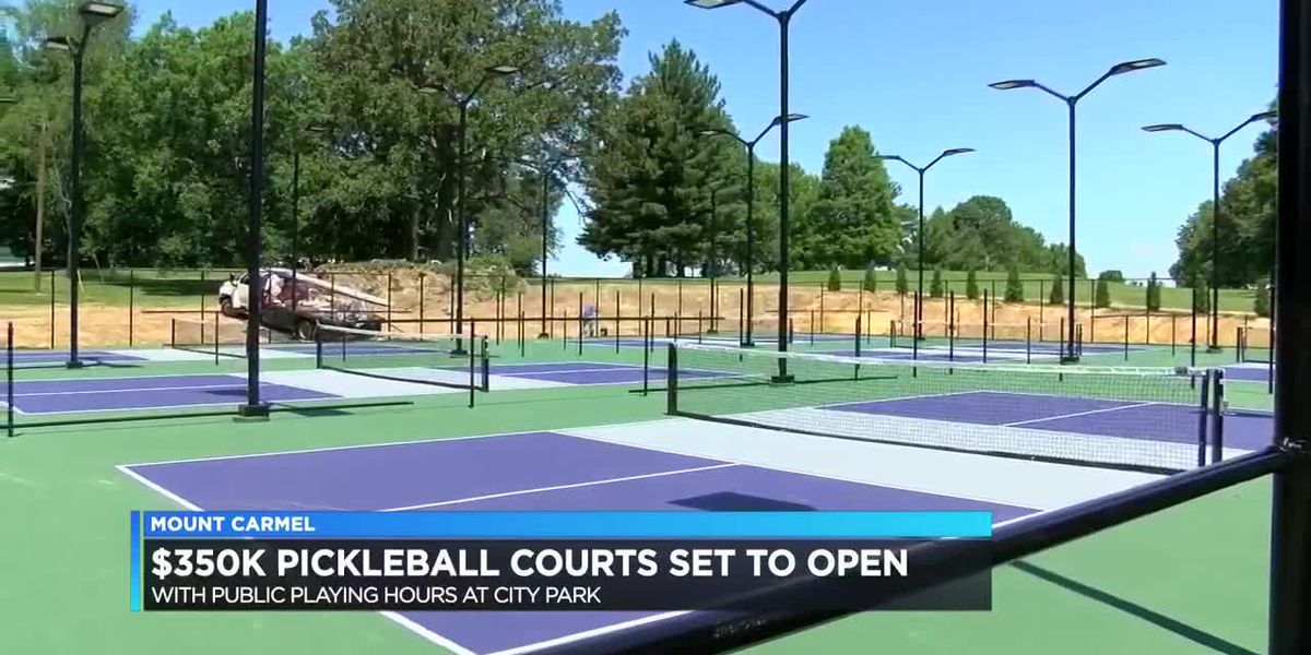 Mount Carmel set to open $350K pickleball courts