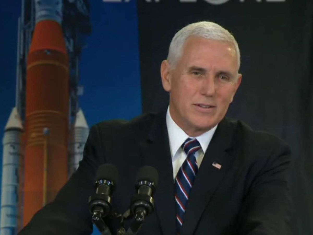 'Next year will be a year to fly': Pence praises NASA's work on returning US to moon, further exploring Mars