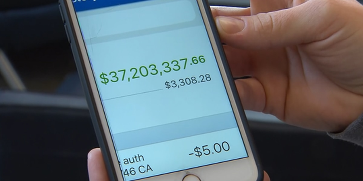 Woman discovers $37 million in her bank account
